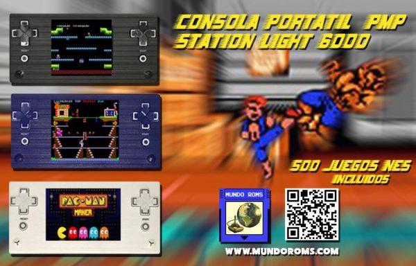 Consola PMP Station Light 6000 (500 en 1)