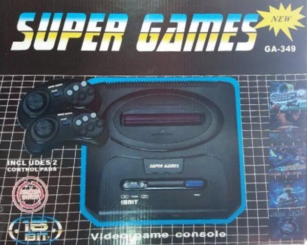 Consola GA-349 (Compatible con Sega Genesis)