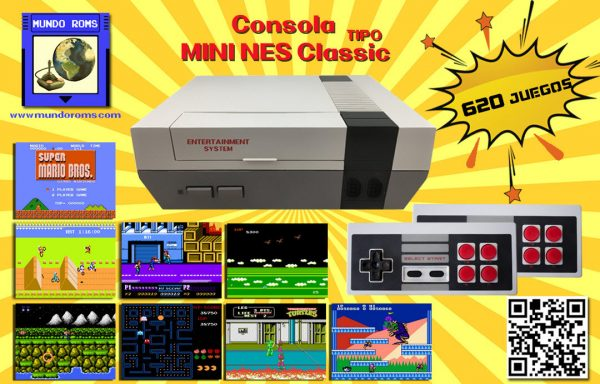 Consola Mini Game Anniversary Edition (620 juegos incorporados)