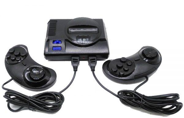 Consola Super Mini MD K2 (168 juegos Sega Genesis)