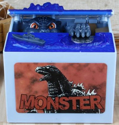 Alcancía de Godzilla