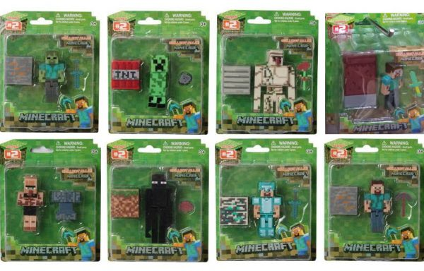 Set Figuras Minecraft #2: Overworld collect all 8