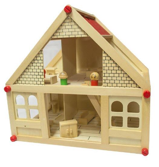Casa de Muñeca de Madera