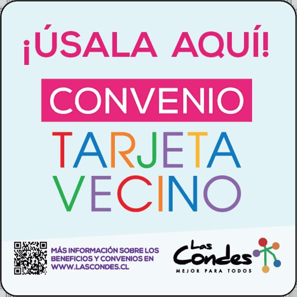 _Convenio Tarjeta Vecino Las Condes