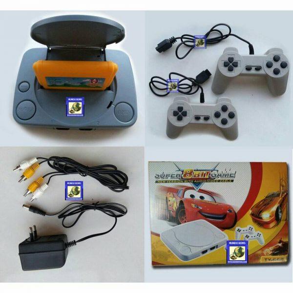 Consola Polystation (13 juegos incorporados + 2 juegos)
